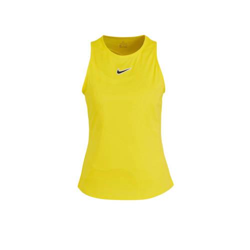 Nike sporttop geel