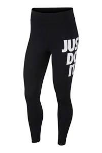 Nike 7/8 legging zwart/wit, Zwart/wit