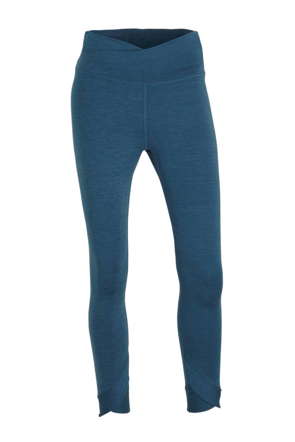 Nike 7/8 sportbroek blauw, Blauw
