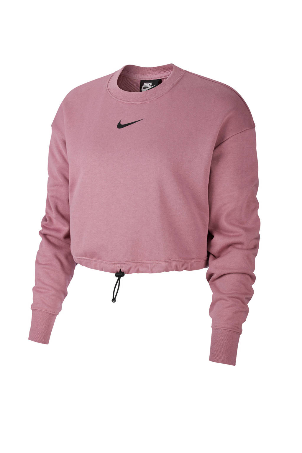 Nike cropped sweater paars, Paars