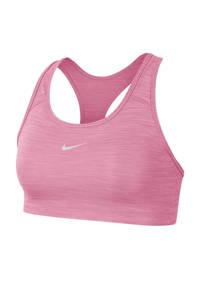Nike level 3 sportbh roze, Roze