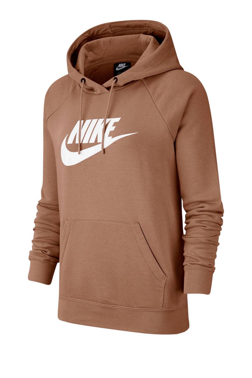 Nike hoodie bruin, Bruin