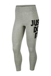 Nike 7/8 legging grijs/zwart, Grijs/zwart