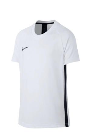 Junior  voetbalshirt wit/zwart