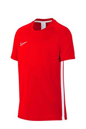 Junior  voetbalshirt rood/wit