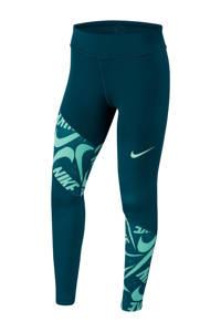 Nike legging groen, Groen