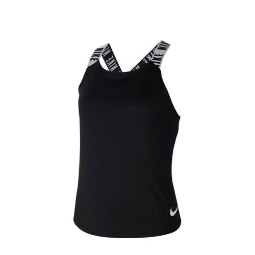 Nike top zwart/wit