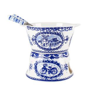 Delfts Blauw fondue set