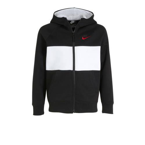 Nike vest zwart/wit
