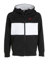 Nike vest zwart/wit, Zwart/wit