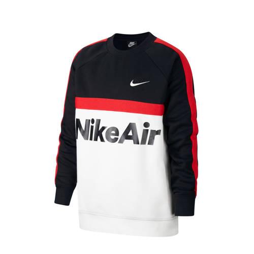 Nike sweater zwart/wit/rood