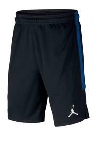 Nike Junior  voetbalshort zwart/blauw, Zwart/blauw