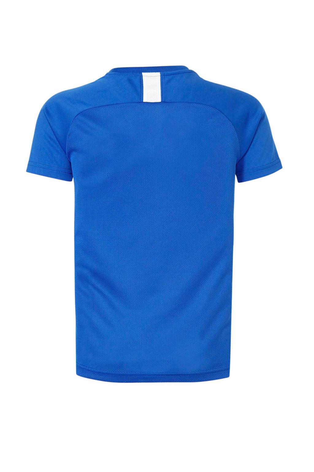 Nike Junior  voetbalshirt blauw, Blauw/wit