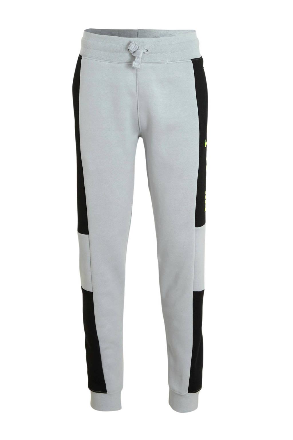 Nike   joggingbroek grijs/zwart, Grijs/zwart