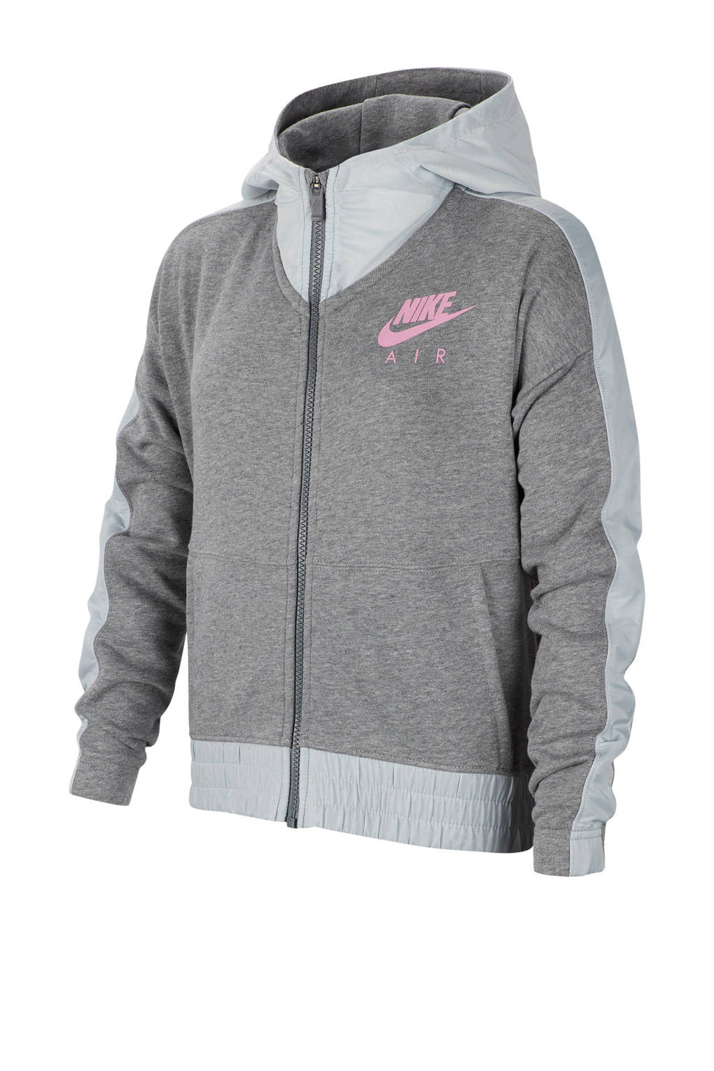 Nike cropped vest grijs, Grijs