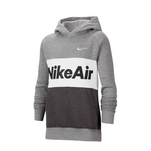 Nike hoodie grijs/wit/zwart