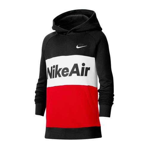 Nike hoodie rood/zwart/wit
