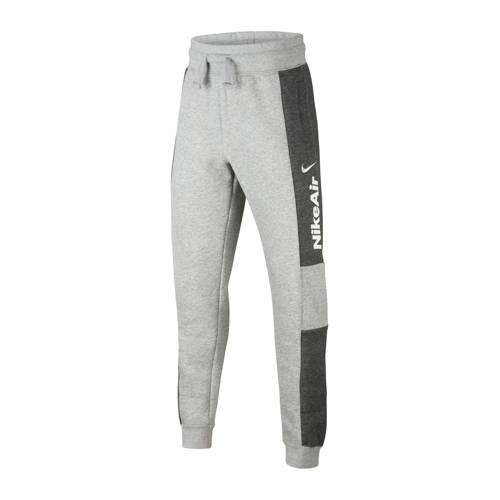 Nike joggingbroek grijs melange