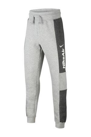 joggingbroek grijs melange