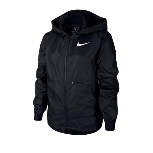 Nike jack zwart