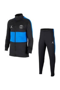 Nike Junior Paris Saint Germain trainingspak, Zwart/blauw