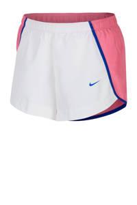 Nike short wit/roze, Wit/roze