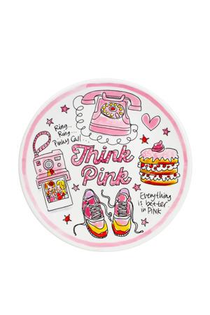 Pink Days ontbijtbord (22 cm)