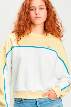 sweater Celeste wit/geel