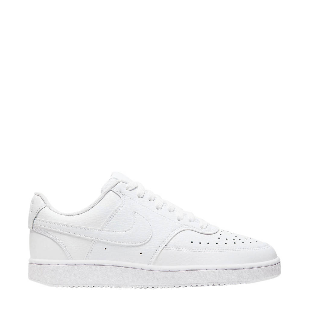 Nike Court Vision Low  leren sneakers wit, Wit