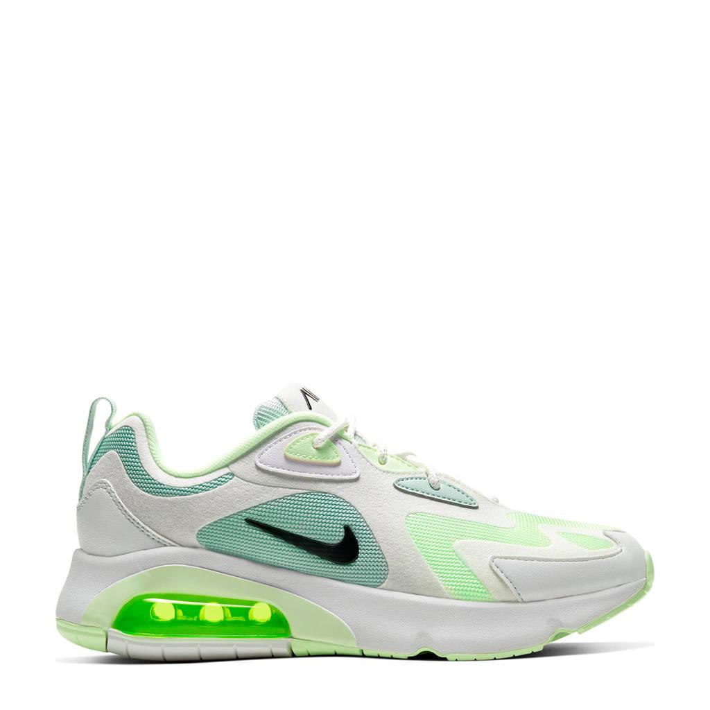 Nike Air Max 200 sneakers wit/groen, Wit/groen