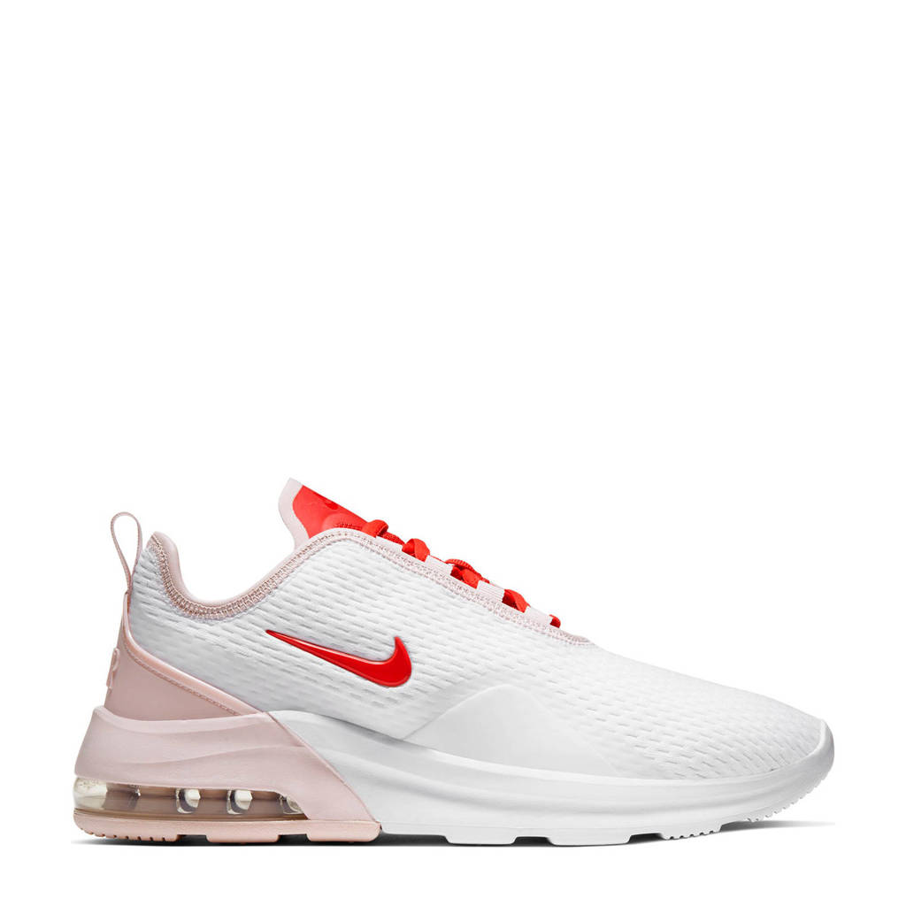 Nike Air Max Motion 2  sneakers wit/roze/rood, Wit/roze/rood