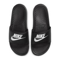 Nike Benassi JDI  slippers zwart/wit, Zwart/wit