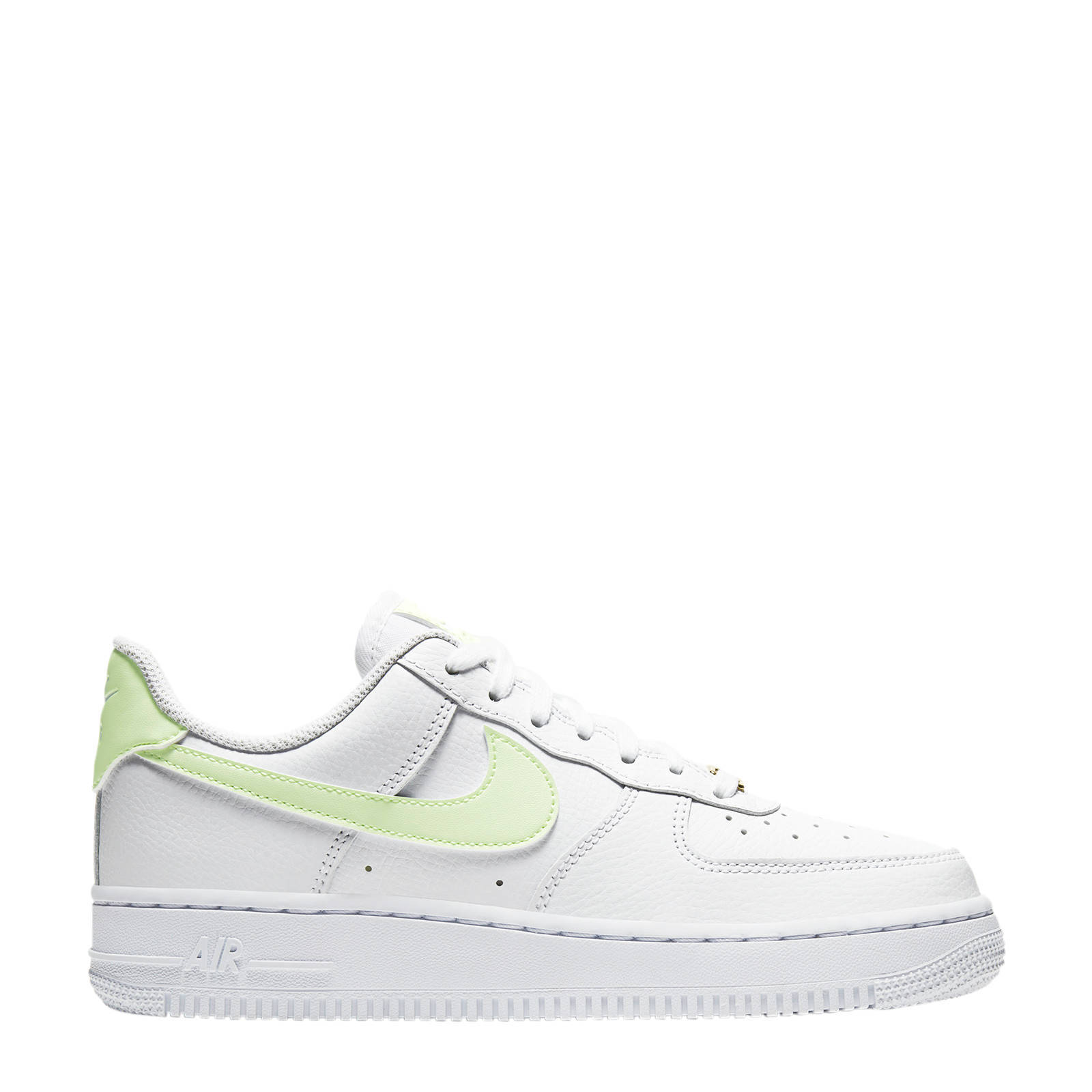 Nike Air Force 1 '07 sneakers wit/geel | wehkamp