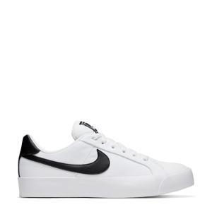 Court Royale AC  leren sneakers wit/zwart