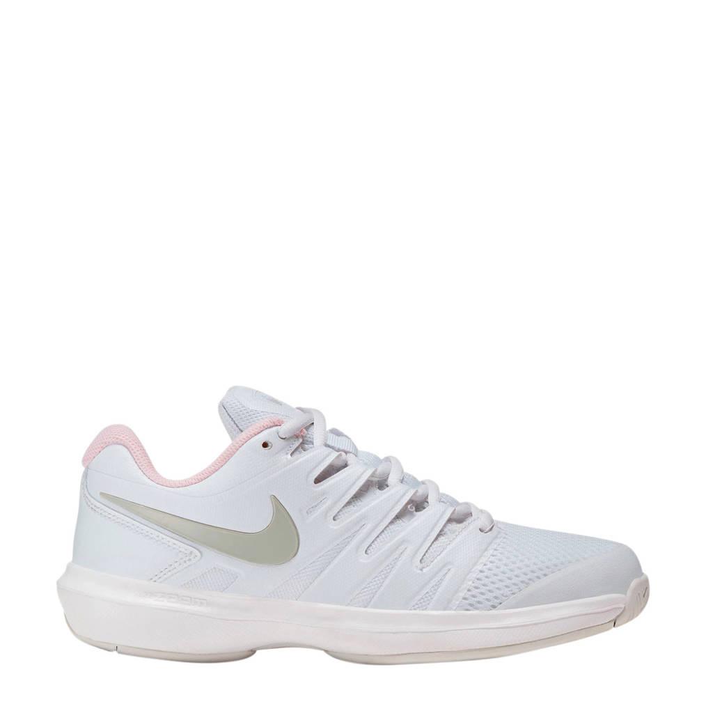 Nike  Air Zoom Prestige HC tennisschoenen wit/lichtroze, Wit/lichtroze