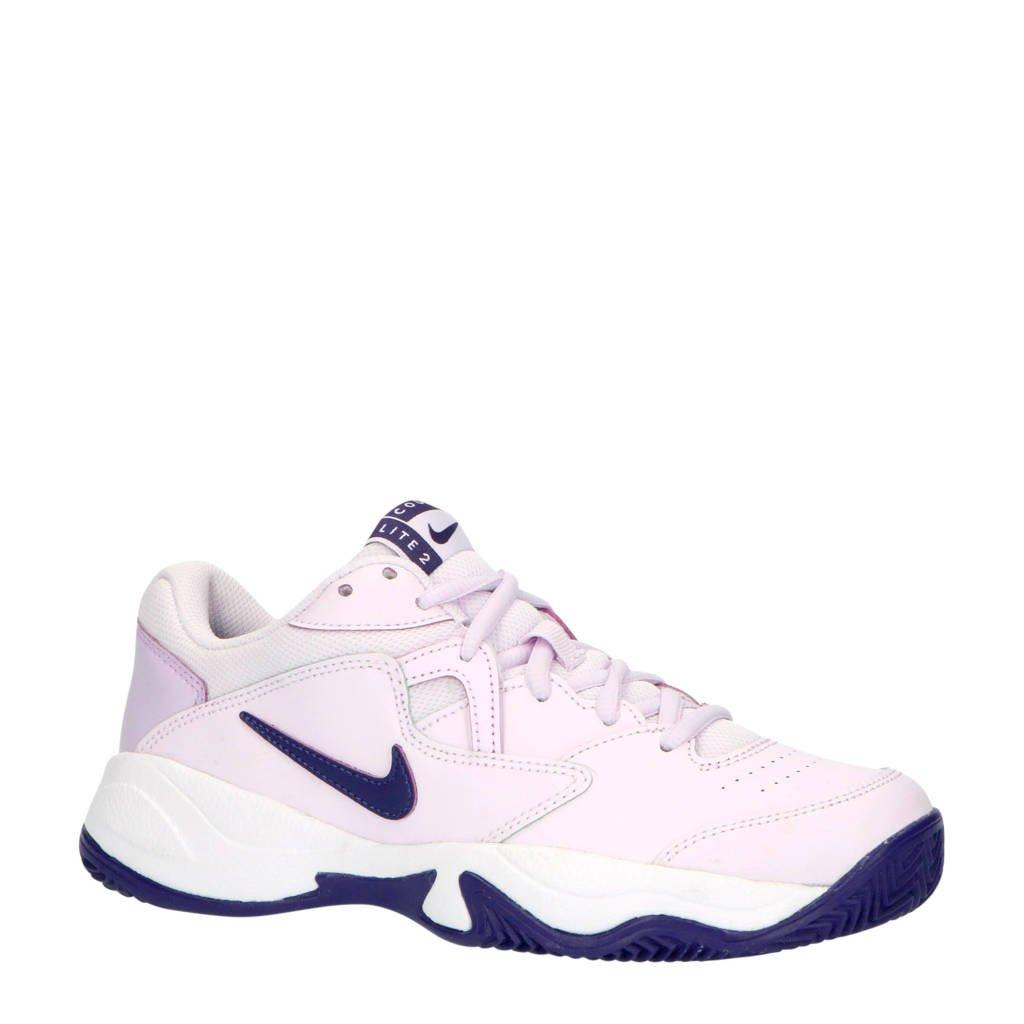 Nike Court Lite 2 CLY  tennisschoenen lila/paars, Lila/paars