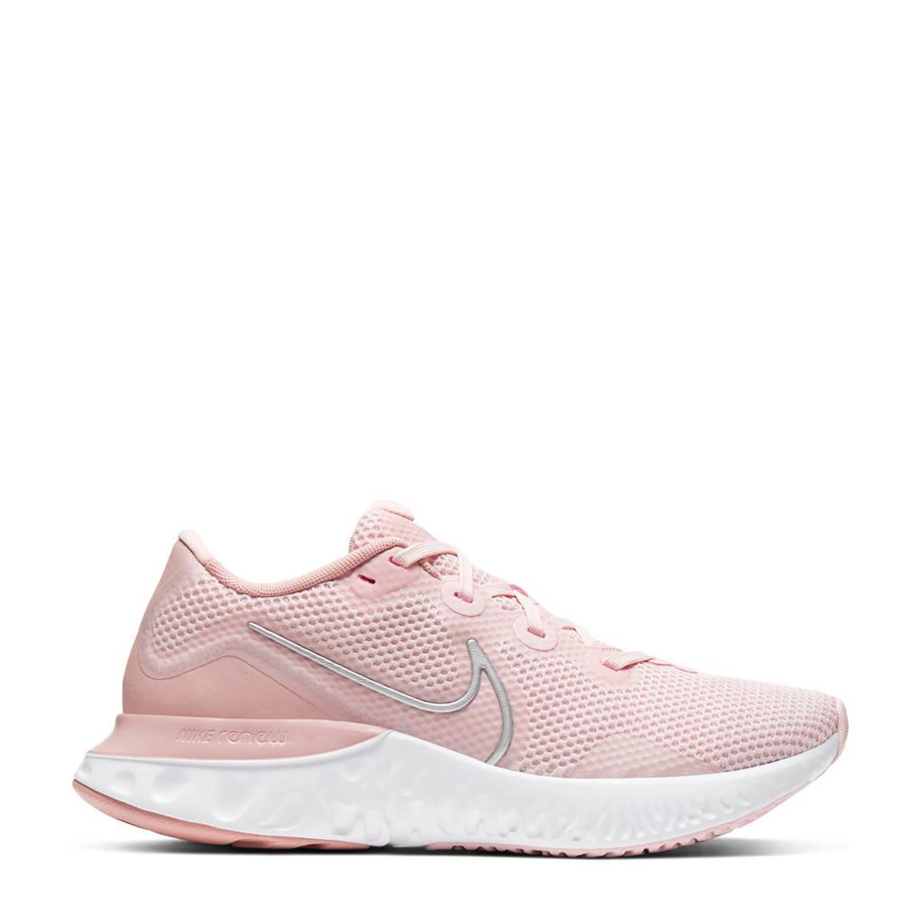 Nike Renew Run  hardloopschoenen lichtroze/zilver, Lichtroze/zilver