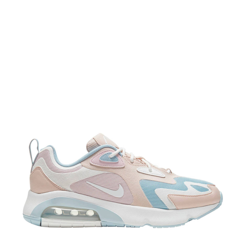 Nike Air Max 200 sneakers wit/pastelroze, Wit/Pastel
