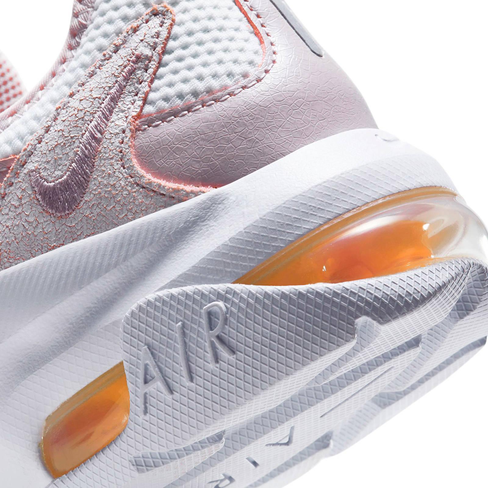 Air Max Graviton leren sneakers roze/wit