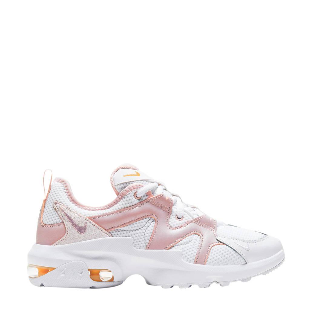 Nike Air Max Graviton  leren sneakers roze/wit, Roze/wit
