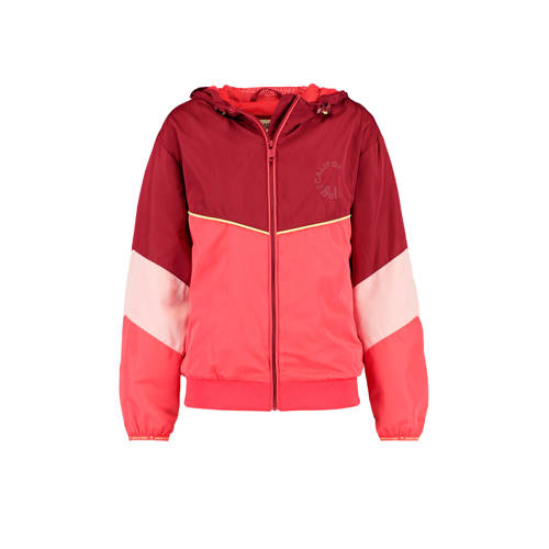 America Today Junior zomerjas Jolie rood/roze