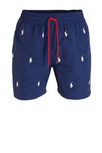 POLO Ralph Lauren zwemshort met geborduurde logo's donkerblauw, Donkerblauw