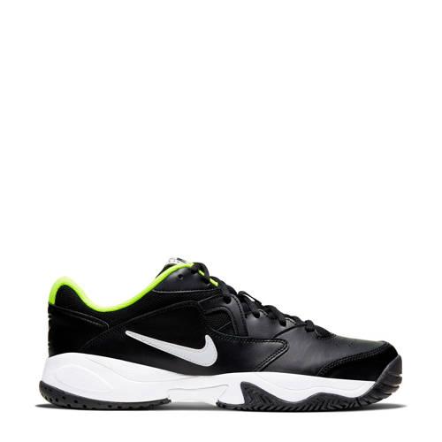 Nike Court Lite 2 tennisschoenen zwart/wit