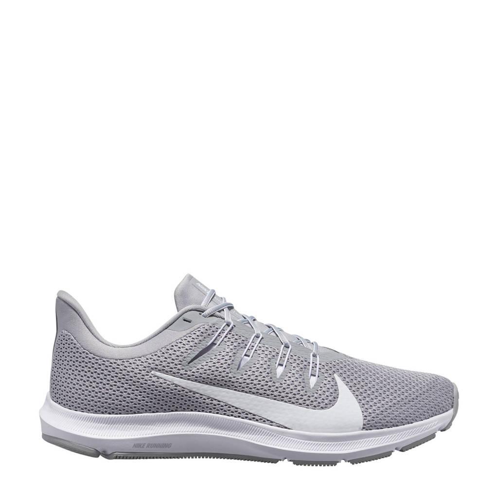 Nike Quest 2  hardloopschoenen grijs/wit, Grijs/wit