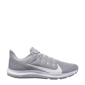 Quest 2  hardloopschoenen grijs/wit