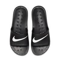 Nike  Kawa Shower badslippers zwart/wit, Zwart/wit