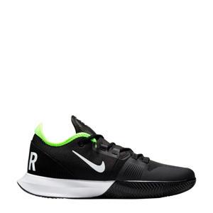Court Air Max Wildcard tennisschoenen zwart/wit/geel