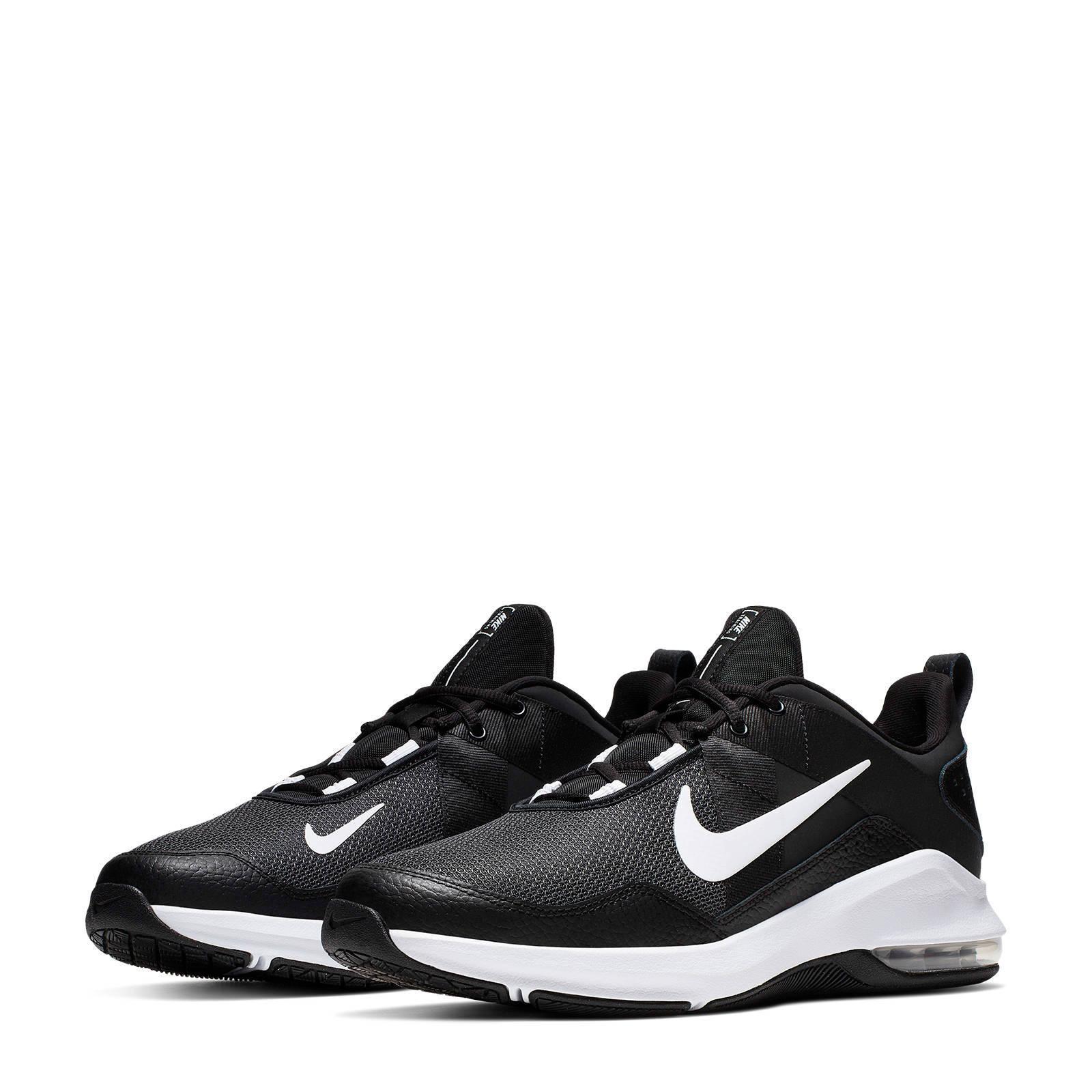 Nike Air Max Alpha Trainer 2 sportschoenen zwartwit | wehkamp