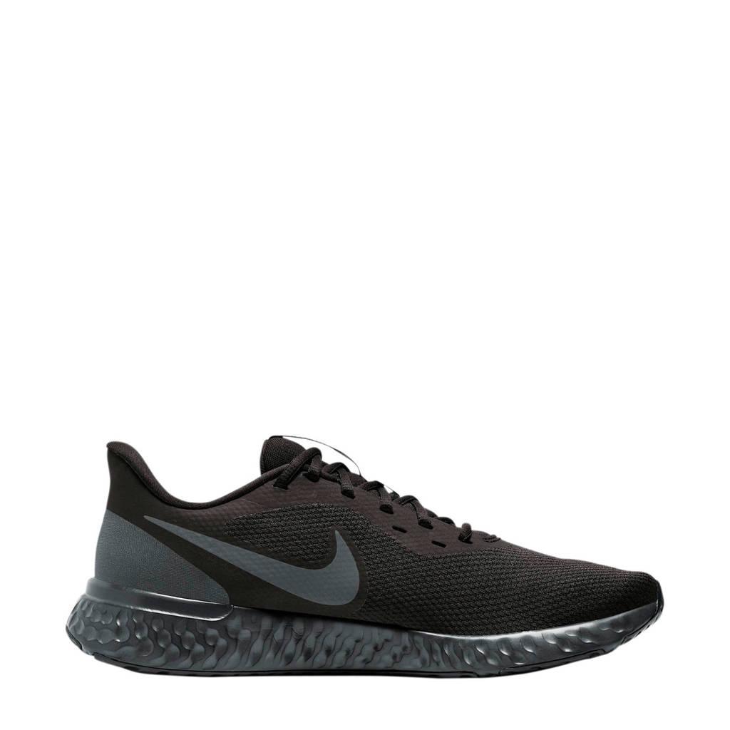 Nike Revolution 5 hardloopschoenen zwart, Zwart/antraciet