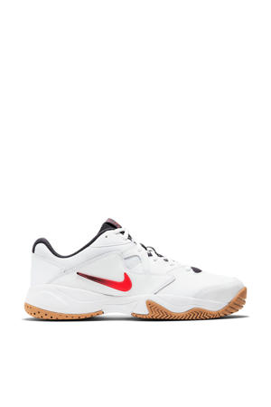 Court Lite 2 tennisschoenen wit/rood